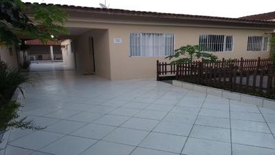 Casa Com Piscina Na Praia Mongaguá 4 Dormitórios C5961