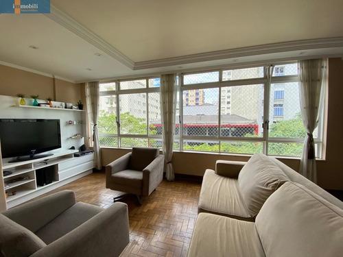 Excelente Apartamento Arejado E Ensolarado. - Pc102070