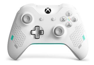 Joystick Control Microsoft Xbox One Wireless Sport White