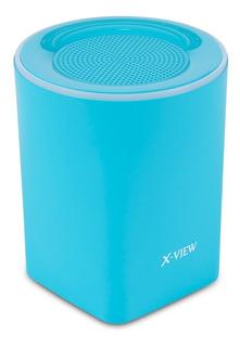 Parlante X View Portatil Bluetooth Backbone Mini Manos Libre Altavoz Con Luz