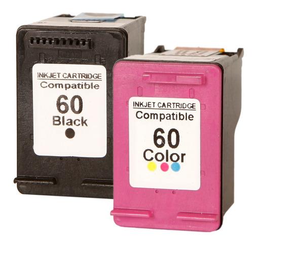 Par Cartucho 60 Preto + Colorido C4680 C4780 D1660 F4280