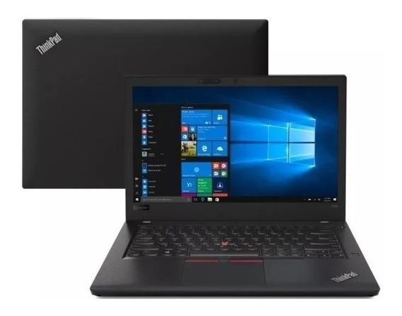 Notebook Lenovo T480 I7-8650u 16gb Ram Ssd 500gb 2 Baterias