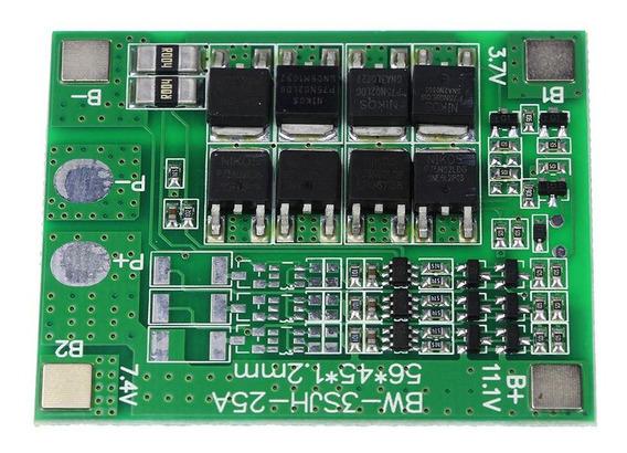 Cargador De Batería / Respaldo Litio 3s 12,6v 25a Pcm Bms