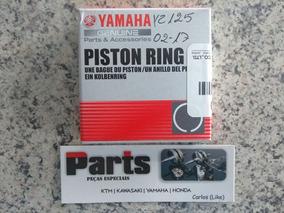 Anel Pistão Yz125 02-19 Original Yamaha Yz 125