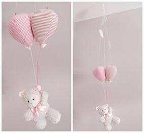 Móbile Bebê De Teto - Ovelhinha E Balões