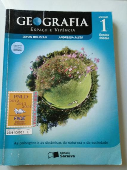 Livro Geografia Espaço E Vivência Vol 1 Ensino Médio