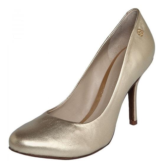 Sapato Feminino Capodarte 4008631 Couro Original+nota Fisc.