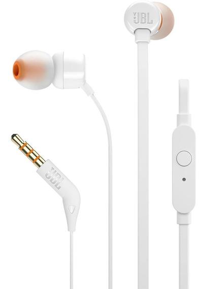 Fone De Ouvido Tune 110 Branco Jbl