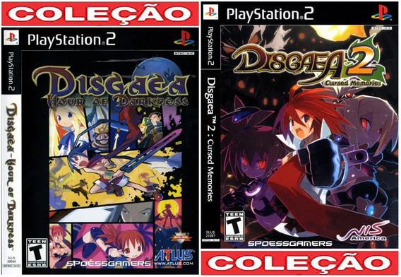 Disgaea 1 E 2 Ps2 Coleção (2 Dvds) Patch .