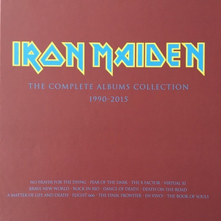 Boxset Iron Maiden The Complete Albums Collection 1990-2015