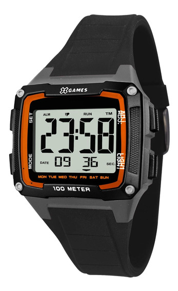 Relógio Xgames Xkppd062 Bxpx Unissex Preto - Refinado