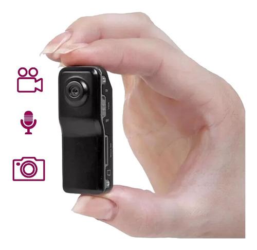 Mini Camara Espia Oculta Seguridad Dvr Hd Microfono Video Para Memoria Micro Sd Grabacion Camuflada Accesorios Clip Base