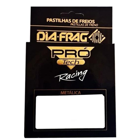 Pastilha De Freio Fx Fxe Fxs Xtz Tenere Pro Tech Dfp-60805