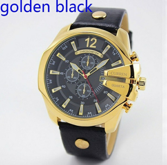 Relógio Ouro Prata Masculino