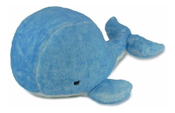 Baleia De Pelúcia Azul Grande - Fundo Do Mar