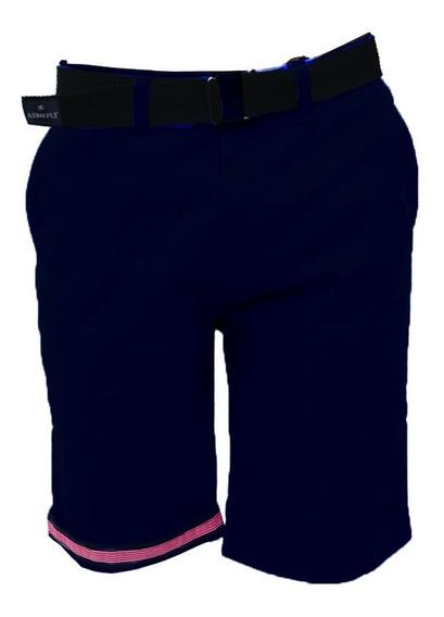 Short Bermuda Caballero Con Cinturón, 5613