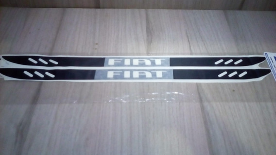 Adesivo Soleira Blackout Fiat 4pt