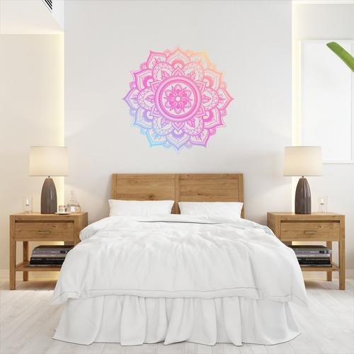 Vinilos Decorativos  Mandalas Colores Degrade De 60x60cm