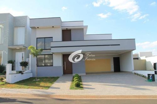 Excelente Casa Em Condomínio De Alto Padrão - Ca2047