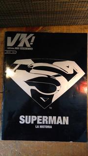 Revista Cómic Superman La Historia