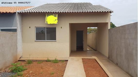 Casa Para Venda Em Várzea Grande, Novo Mundo, 2 Dormitórios, 1 Banheiro, 2 Vagas - 218_1-1307292