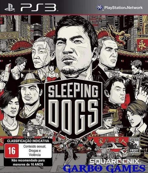 Jogo De Ps3 Sleeping Dogs Em Mídia Digital