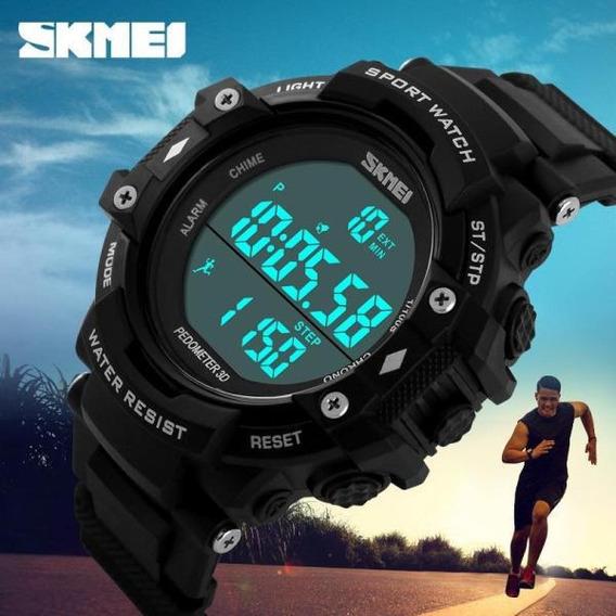 Relógio Unissex Esportivo Pedômetro Skmei 1128 Prova D