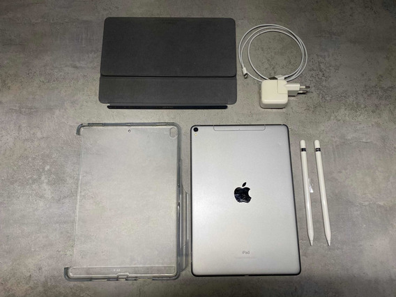 iPad Pro 10,5 512g Wi-fi + Celular 4g + Teclado + 2 Applepen