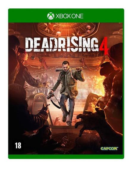 Jogo Mídia Física Dead Rising 4 Em Português Para Xbox One