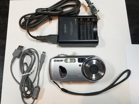 Cámara Digital Sony Cyber-shot P73-4.1 Megapixel