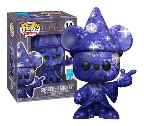 Imagem 1 de 3 de Boneco Funko Pop! Mickey Fantasia Feiticeiro 14 Disney