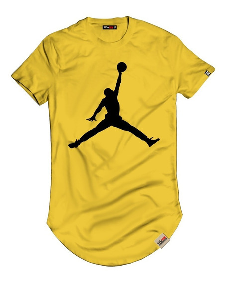 Camisa Camiseta Longline Michael Jordan Baskete Qualidade