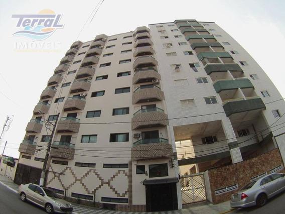 Lindo Apartamento Com 01 Dormitório, Sala Com Sacada, Cozinha, Área De Serviço E Wc Social Com Box. - Ap5680