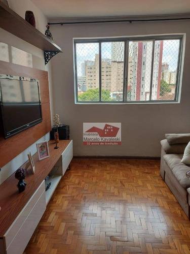 Imagem 1 de 17 de Apartamento Com 2 Dormitórios À Venda, 70 M² Por R$ 360.000,00 - Cambuci - São Paulo/sp - Ap12950