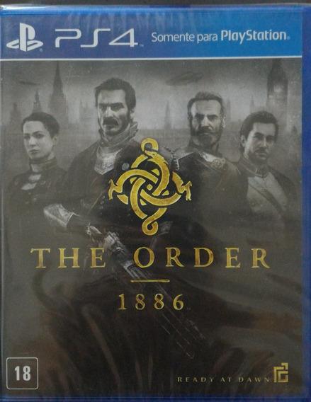 The Order 1886 Ps4 Ptbr Midia Fisica Usado
