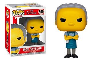 Funko Pop The Simpsons Moe 500 Original Nuevo En Stock