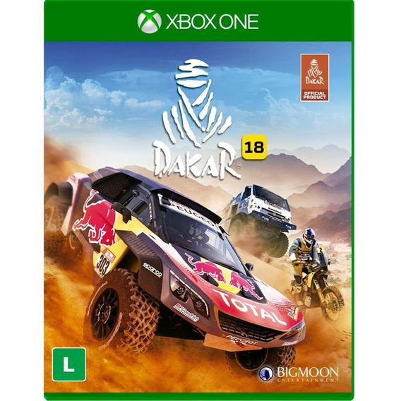 Jogo Mídia Física Dakar 18 Original Para Xbox One