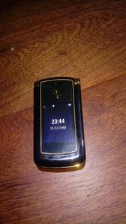 Motorola V8 Razer Gold