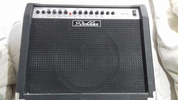 Amplificador 50w Roller Impecable!