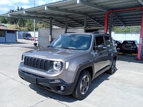 Jeep Renegade Sport Plus 1.8 Aut 2020 Gris Ceniza