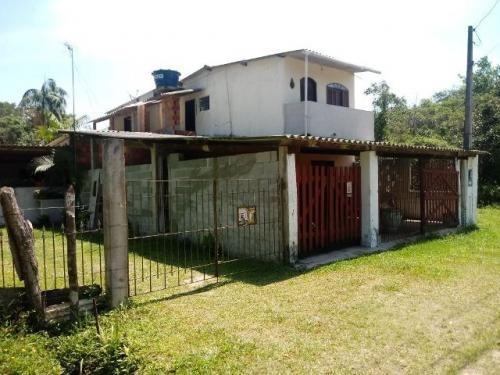 Chácara Com 2 Casas E Salão Comercial Em Itanhaém/sp 3503ra