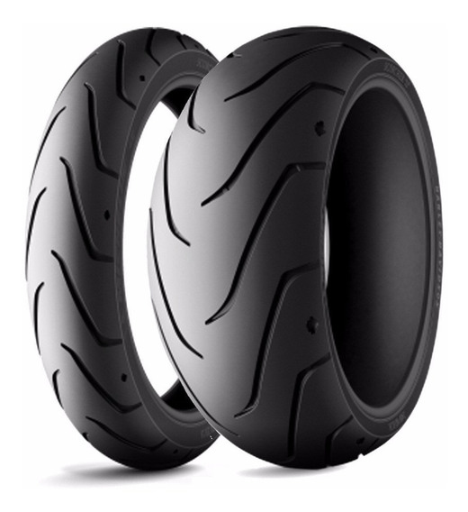 Combo Pneus Michelin Scorcher 200/55-17+140/75-17 Hd Fat Boy