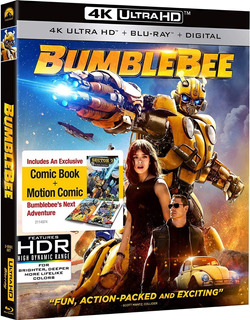 Blu Ray 4k Ultra Hd Bumblebee Transformers