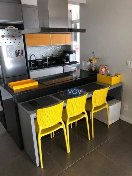 Apartamento À Venda, 67 M² Por R$ 540.000,00 - Sacomã - São Paulo/sp - Ap3005