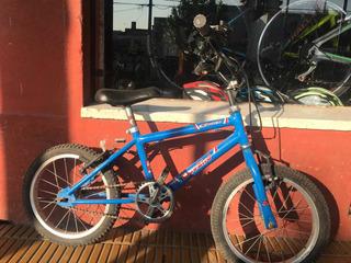 Bicicleta Rodado 16 Importada Usada De Nene
