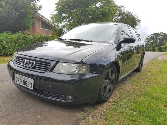Audi A3 1.8t 150cv 2002 Preto Legalizado - 2002