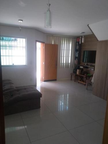 Imagem 1 de 19 de Casa Duplex À Venda, 3 Quartos, 1 Suíte, 2 Vagas, Planalto - Belo Horizonte/mg - 2545