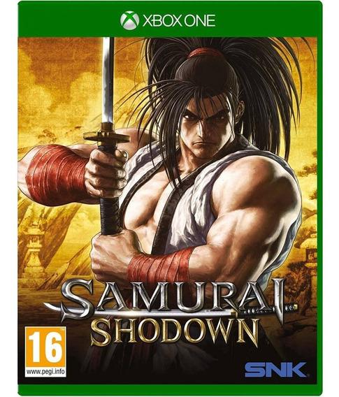 Jogo Midia Fisica Samurai Shodown Original Para Xbox One