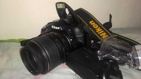 Câmera Nikon D3200 + Lente 18-55mm Àpenas 4260 Clicks
