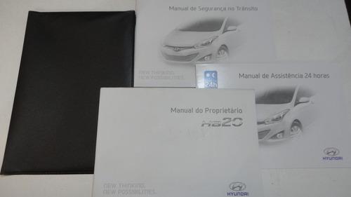Manual Hyundai Hb20 2014 2015 Original 1.0 1.6 Hatch